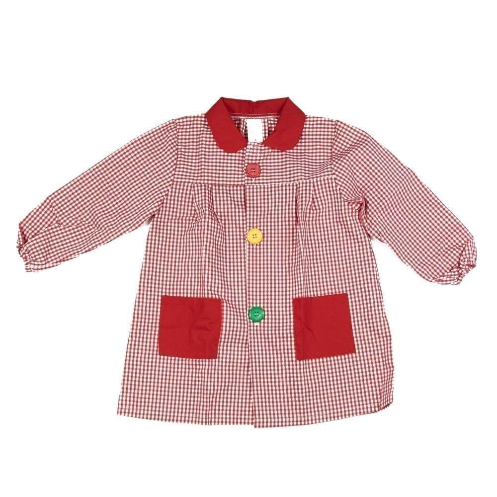 El mejor babi escolar rojo para niños y bebés